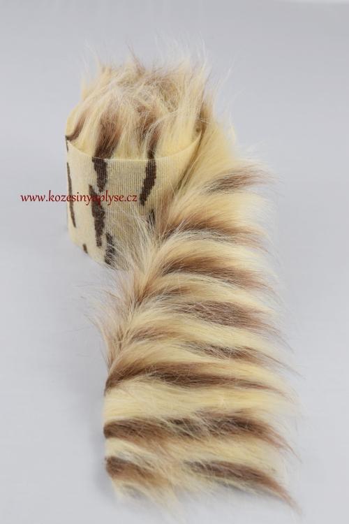 Melír béžová s hnědou vlas 60 mm  b96db763cc
