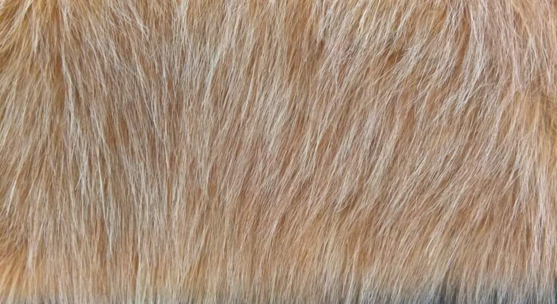 Umělá kožešina béžový melír empty d33b846ffb