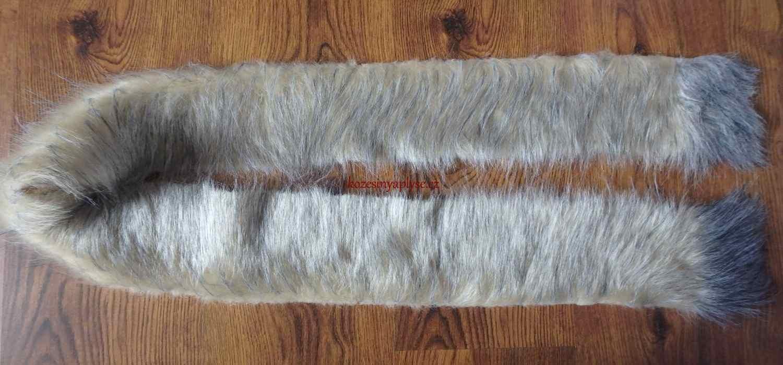 Pruh oděvní kožešiny (10 x 155) - cm  ddd6cc2b57