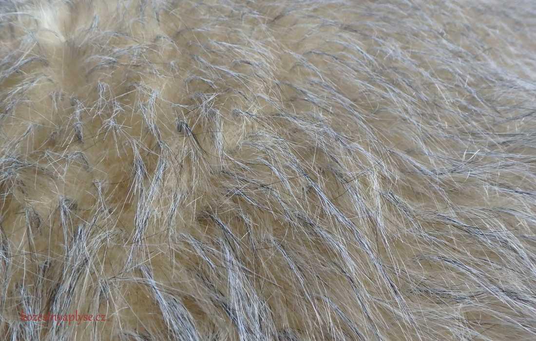 Kompletní specifikace · Ke stažení · Související zboží · Komentáře (0).  Metráž umělé kožešiny s délkou vlasu 60 mm 2e8a9f7563